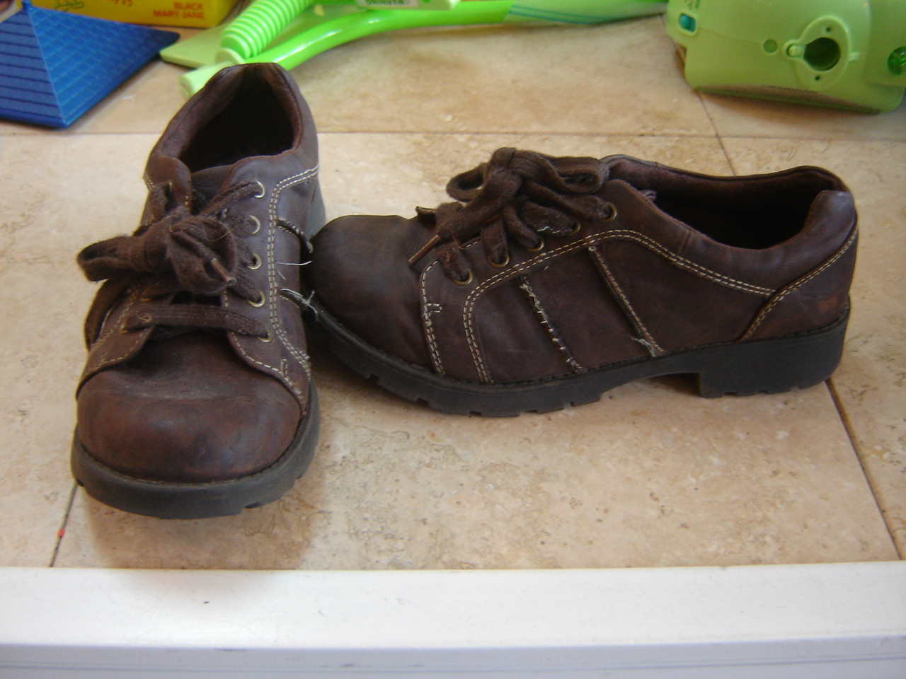 airwalk size youth 2 5 casual laces brown year