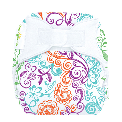 Bumgenius Freetime All In One Aio One Size Cloth Diaper Aplix
