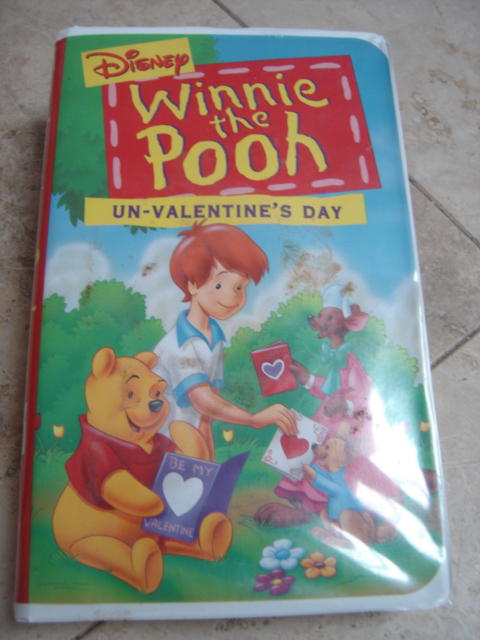 Pooh Vhs Pooh-un-valentines-day-vhs