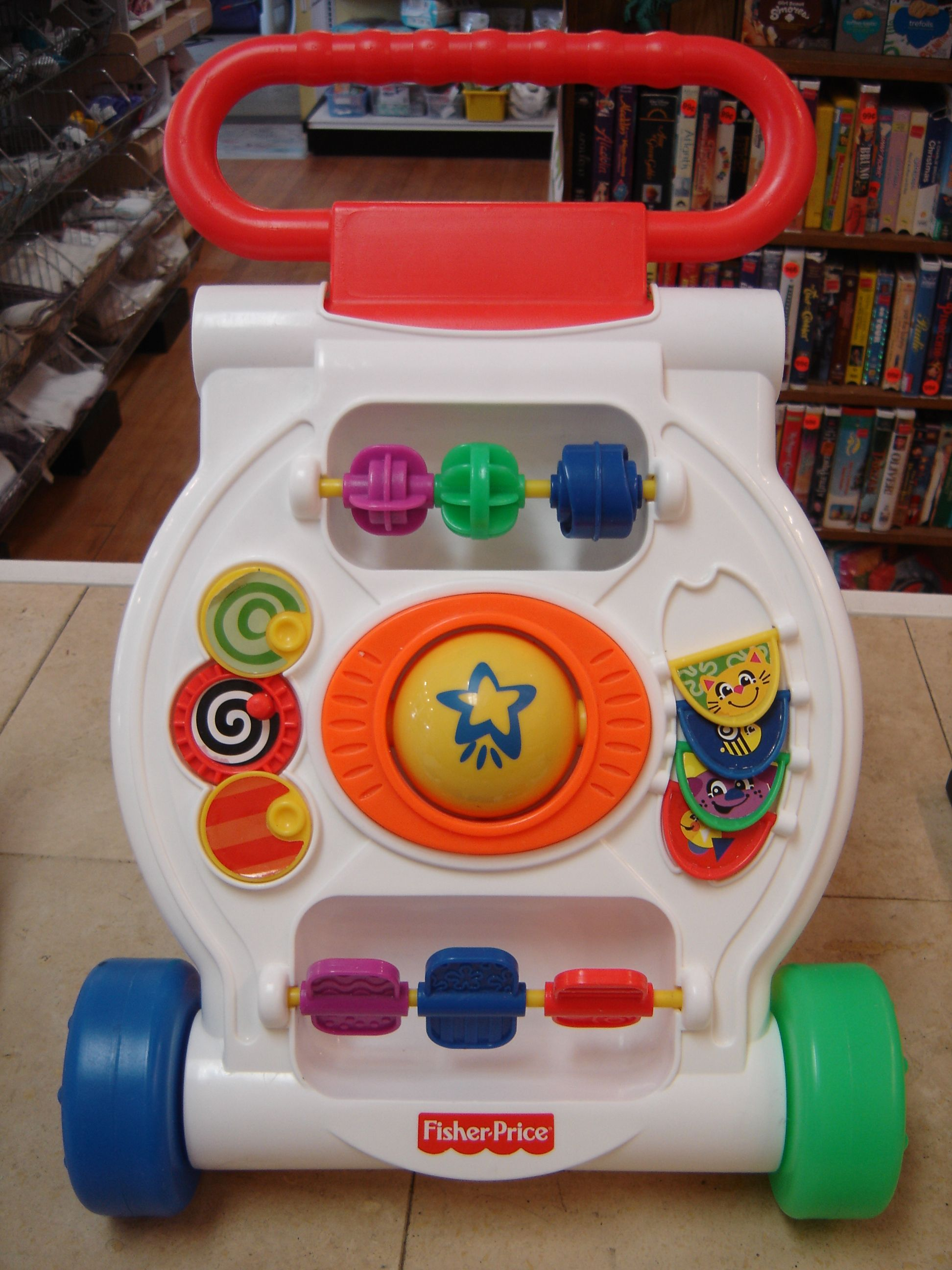 Fisher Price Activity Push Walker Infant Toddler Toy 199253A