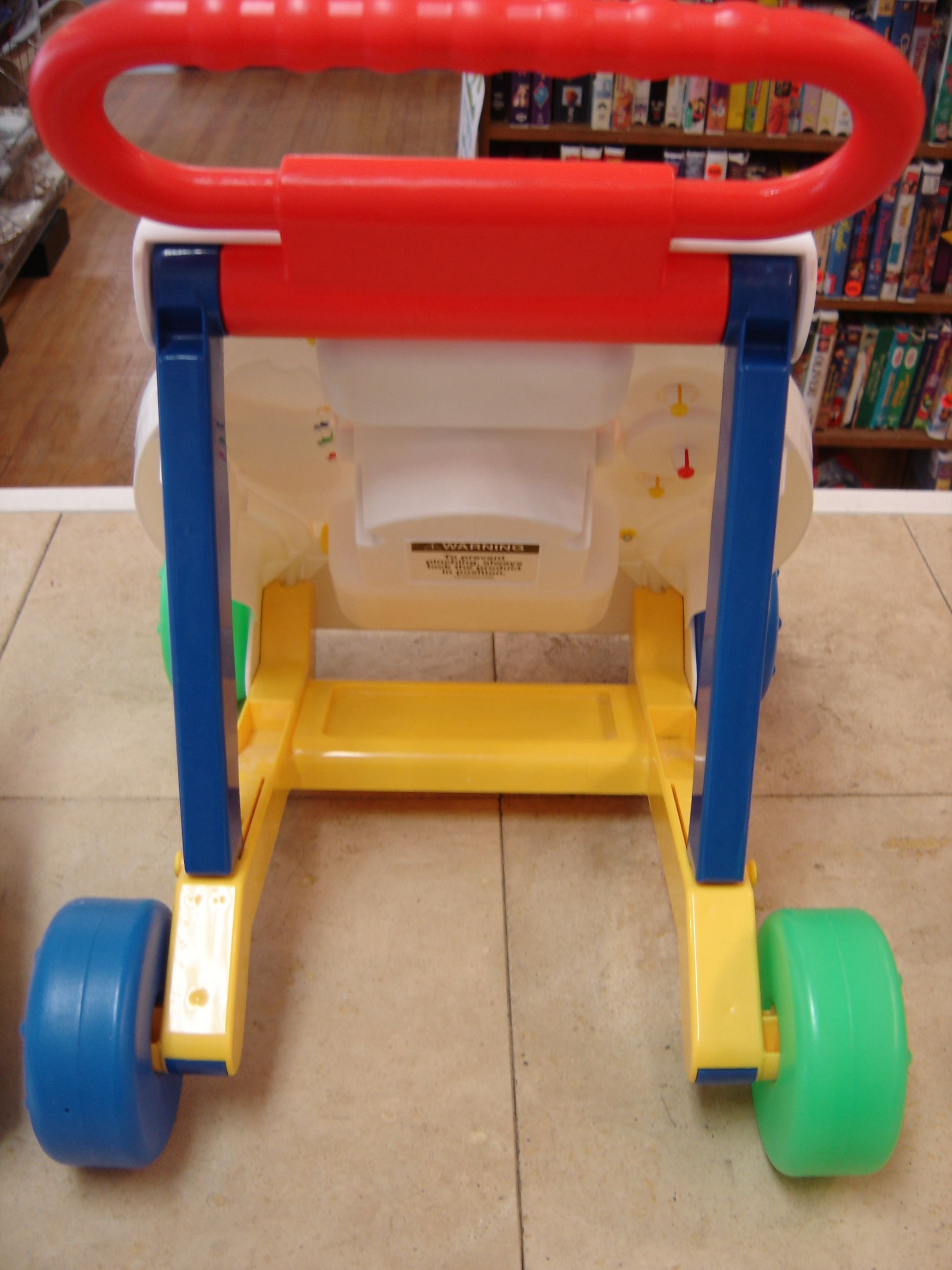Fisher Price Activity Push Walker Infant Toddler Toy 199253B