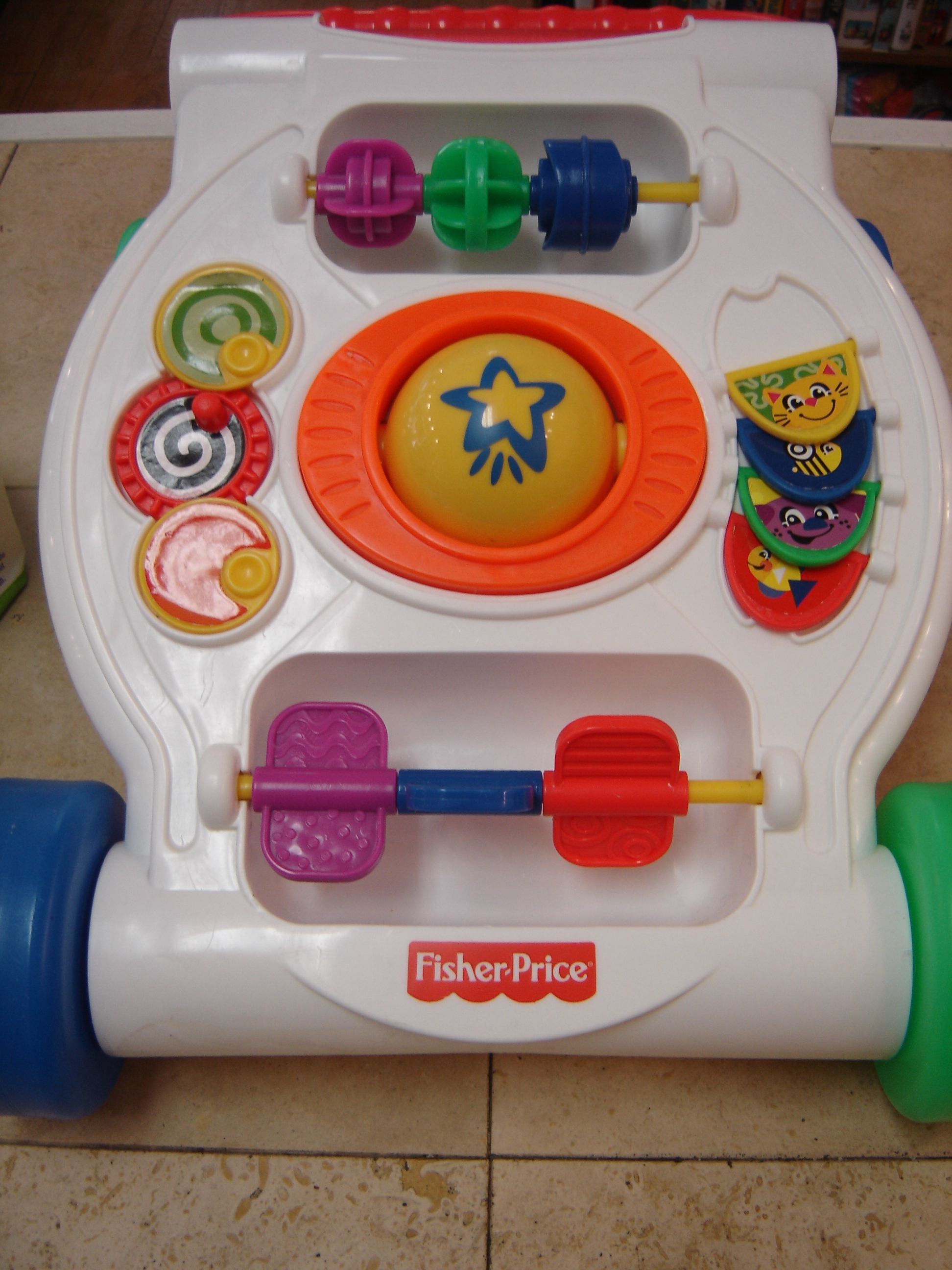 Fisher Price Activity Push Walker Infant Toddler Toy
