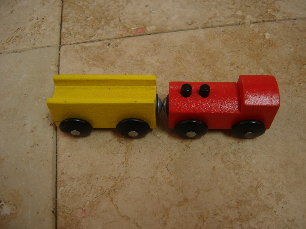 Ikea Wooden Train Red And Yellow Car Set Enkore Kids # Tour Dvd Ikea