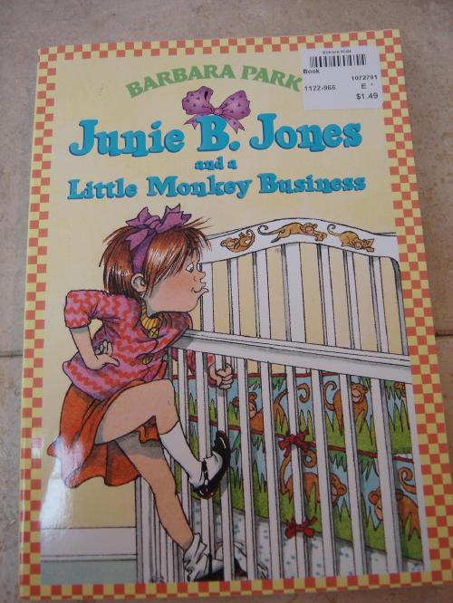 Junie B. Jones and a Little Monkey Business Book | Enkore Kids