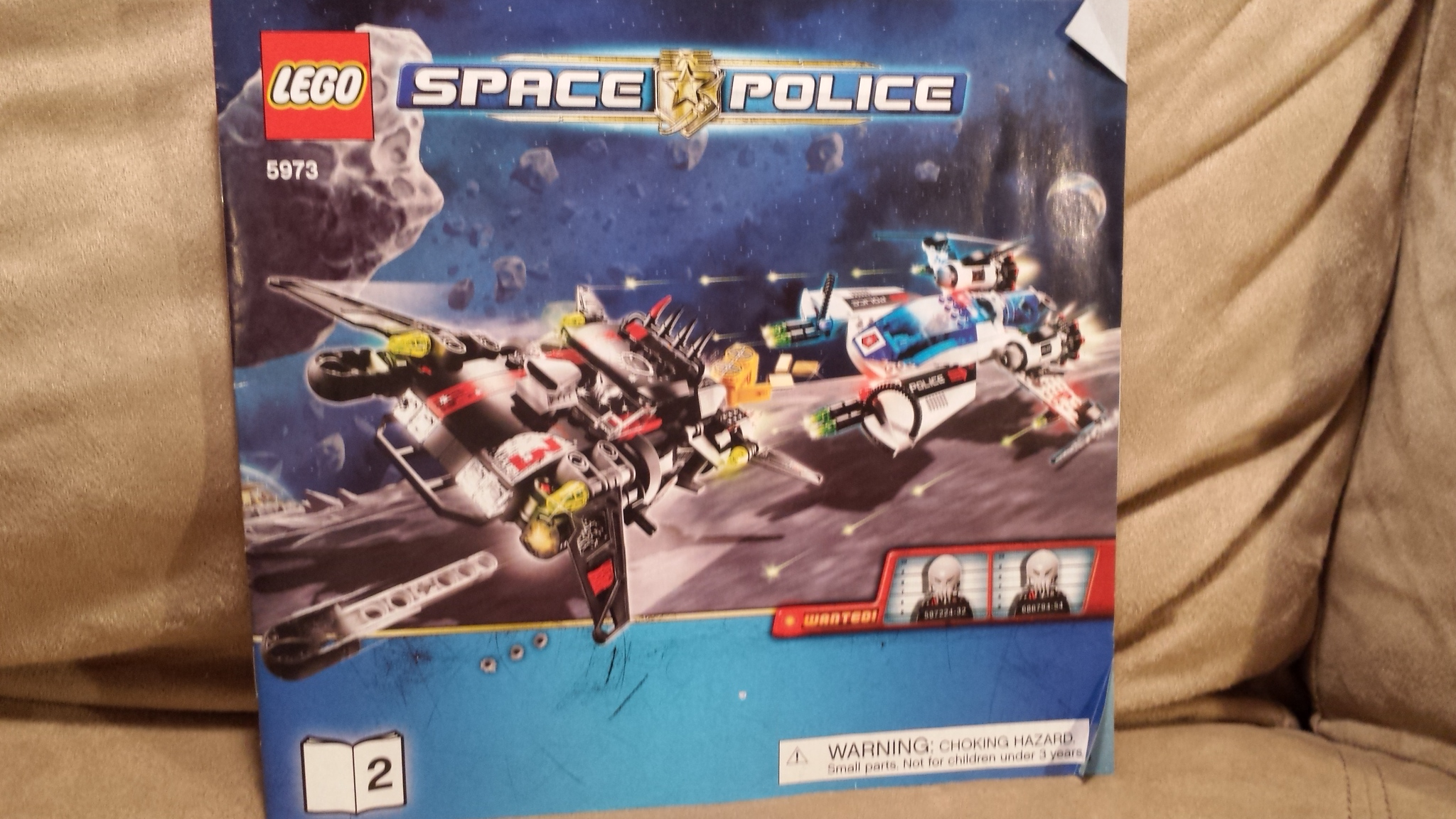 Lego 5973 Space Police Hyper Speed Pursuit Manual Instructions