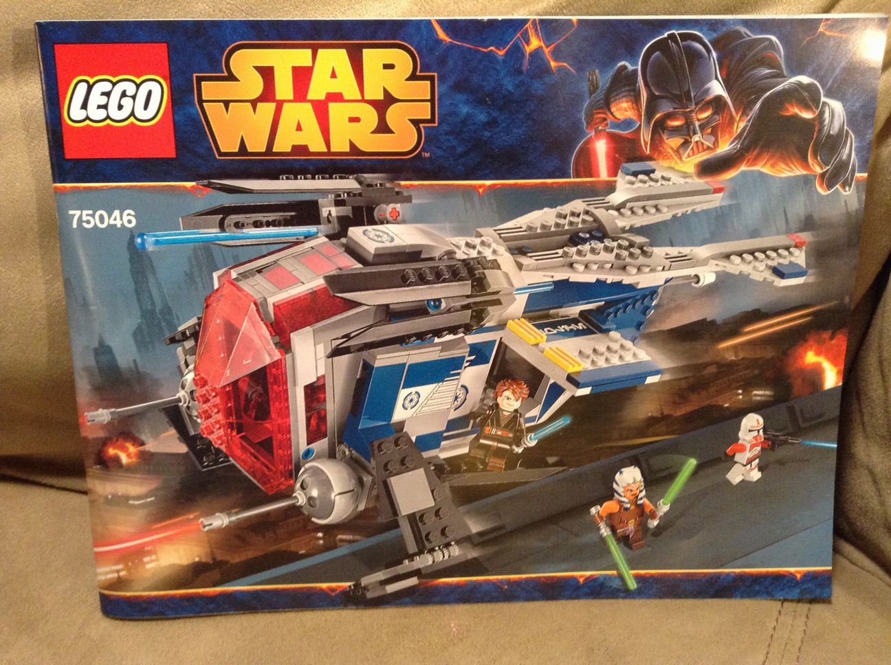 Lego 75046 Star Wars Coruscant Police Gunship Instruction ...