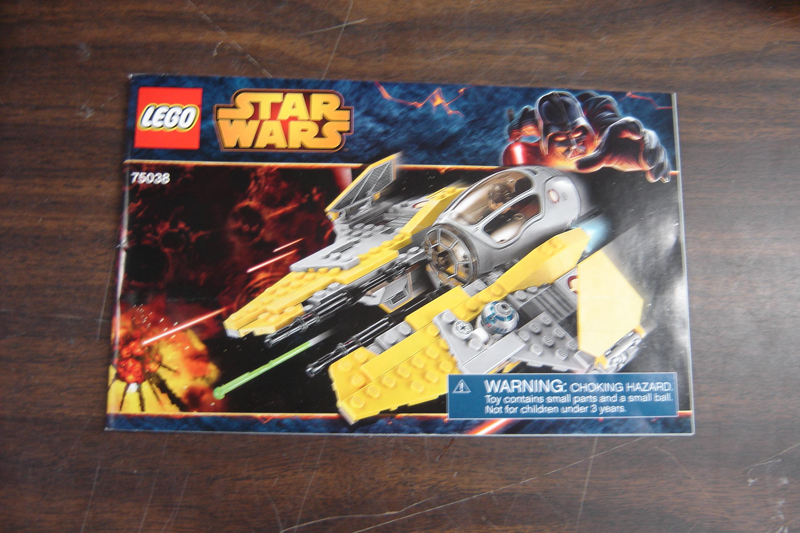 Lego Star Wars 75039 Instruction Manual Booklet Only Enkore Kids
