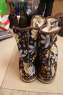 Lexie-Womens-Size-6-Brown-BlueYellow-Floral--Boots-with-Ribbon_195543C.jpg