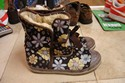 Lexie-Womens-Size-6-Brown-BlueYellow-Floral--Boots-with-Ribbon_195543D.jpg