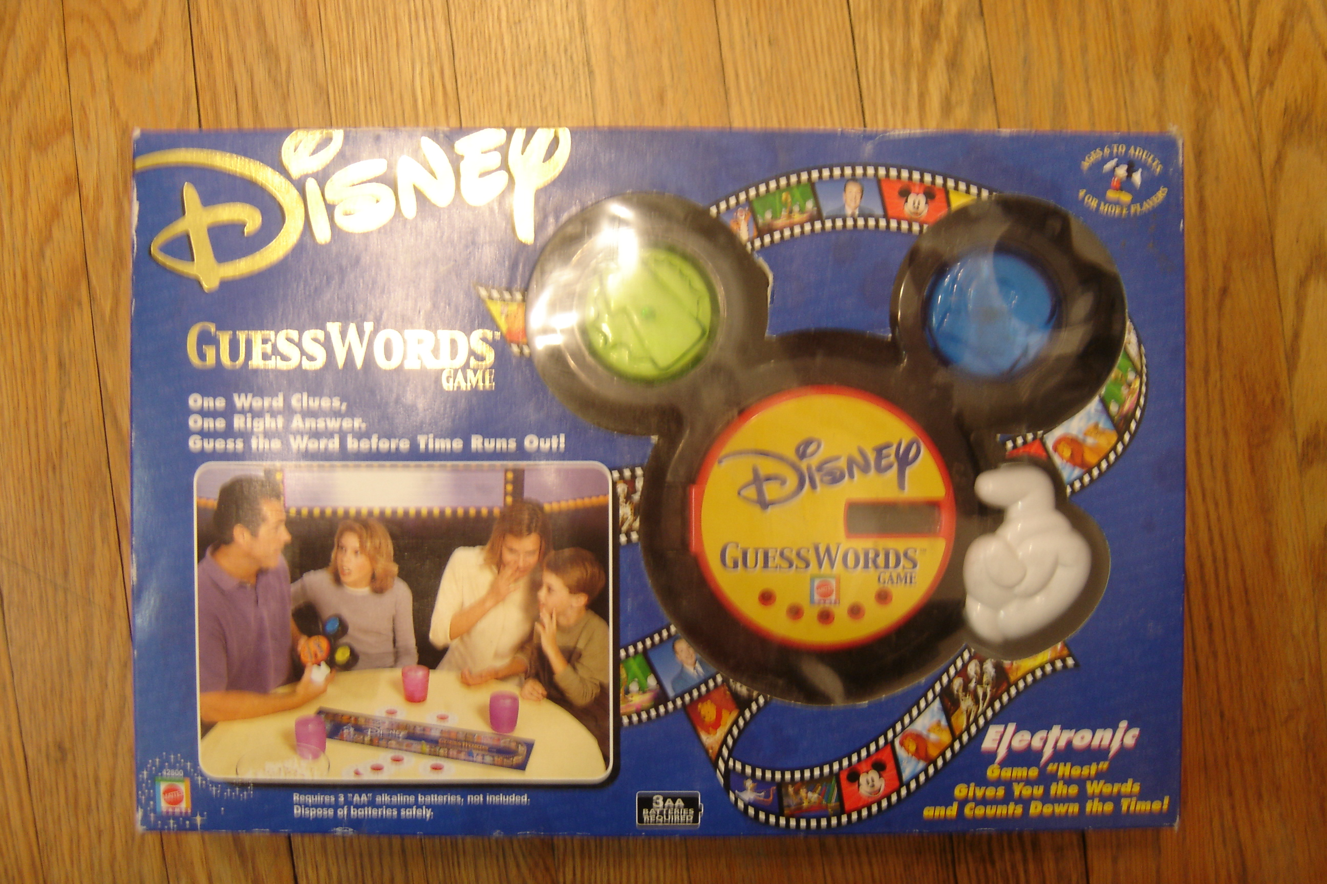 disney guess who instructions