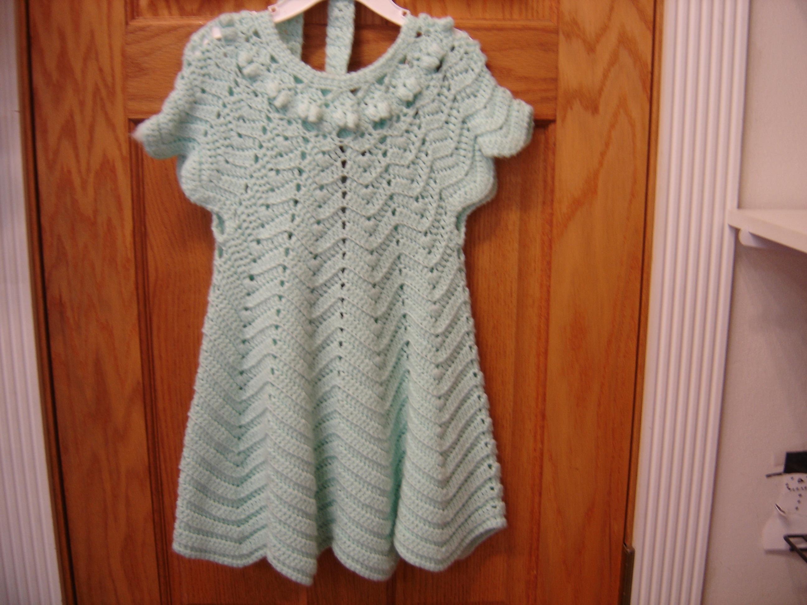 Mint Green Handmade Girls 6-12M Knit Button Short Sleeve Shawl ...