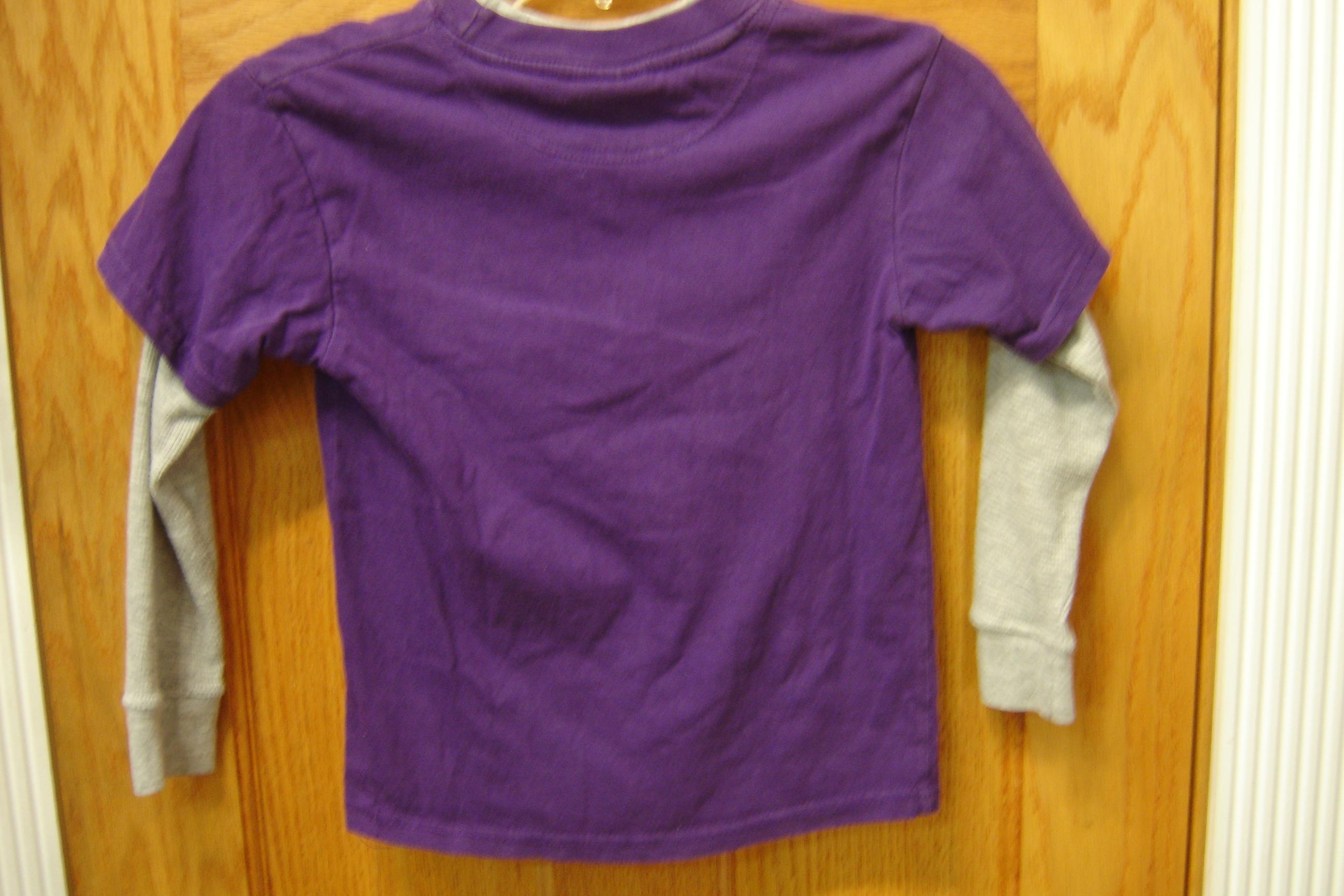 NFL Team Apparel Boys Size 5r-6r Purple Baltimore Ravens Long Sleeve Baltimore Ravens Bedroom Decorating Ideas Html on