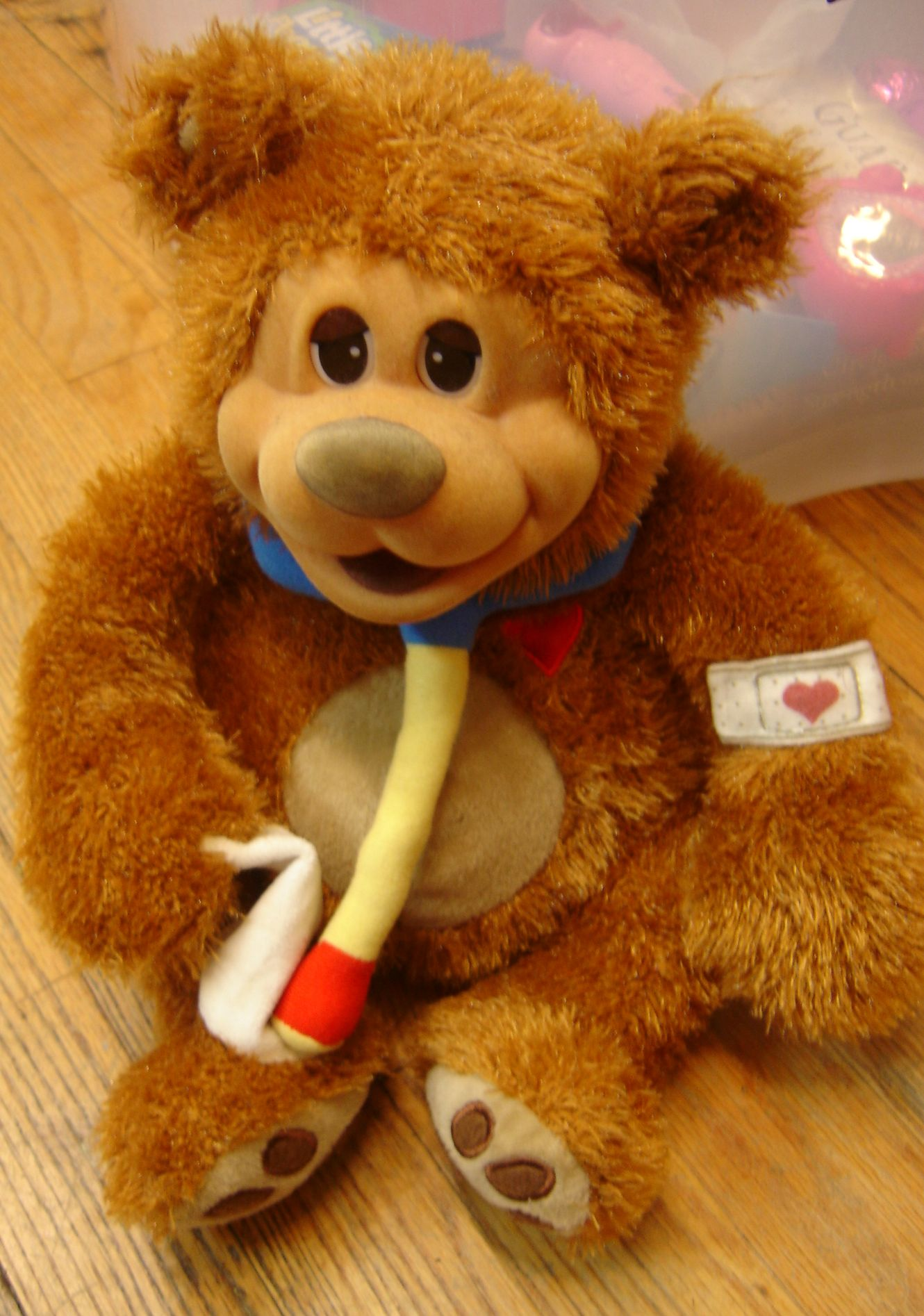 Pawpalz Lil Boo Boo Interactive Teddy Bear Enkore Kids