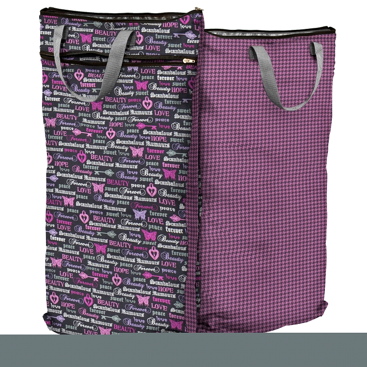 Planet Wise Hanging Wetdry Bags 16 5 X 27