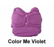 Prorap Medium Classic Colors Cloth Diaper Cover Double Gusset