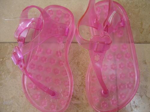 40ee3d8958649 Size Kids-8 Pink Thong Sandals Spring Summer Shoes Pink
