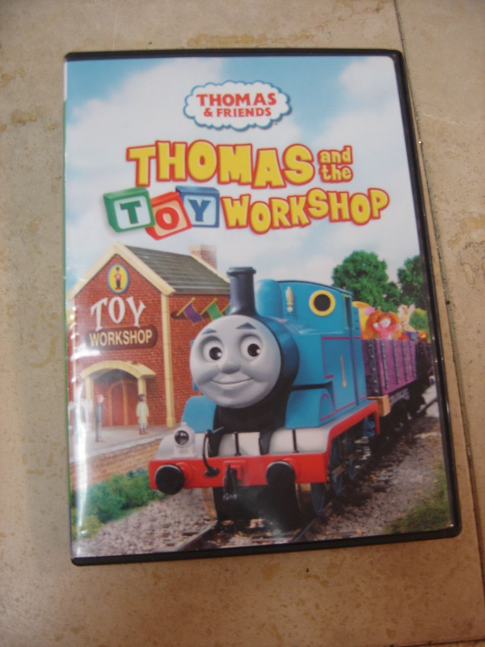 thomas friends thomas the toy workshop dvd enkore kids