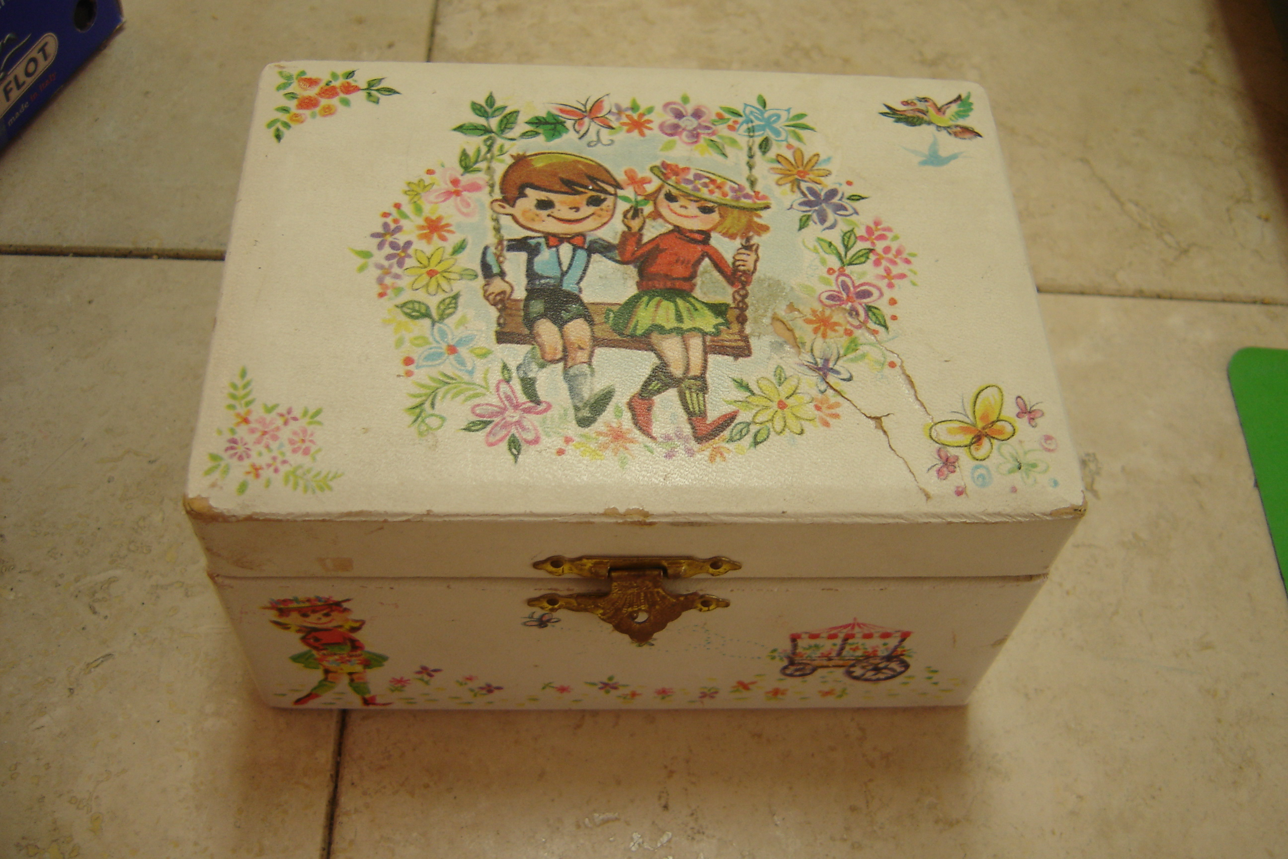 Jewelry Box Missing Ballerina Vintage I Could Have Danced All Night Music