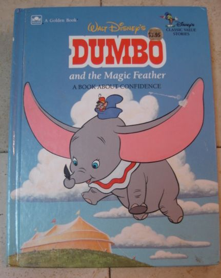 walt disney s dumbo and the magic feather book enkore kids