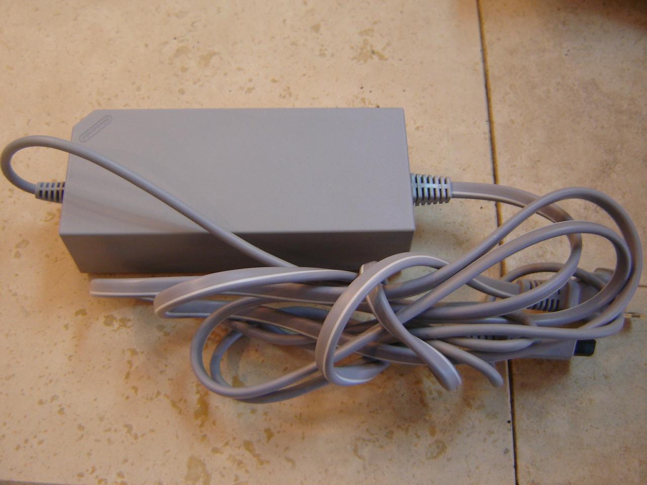 Wii OEM RVL-002 AC Power Adaptor Cord Brick Replacement Part ...