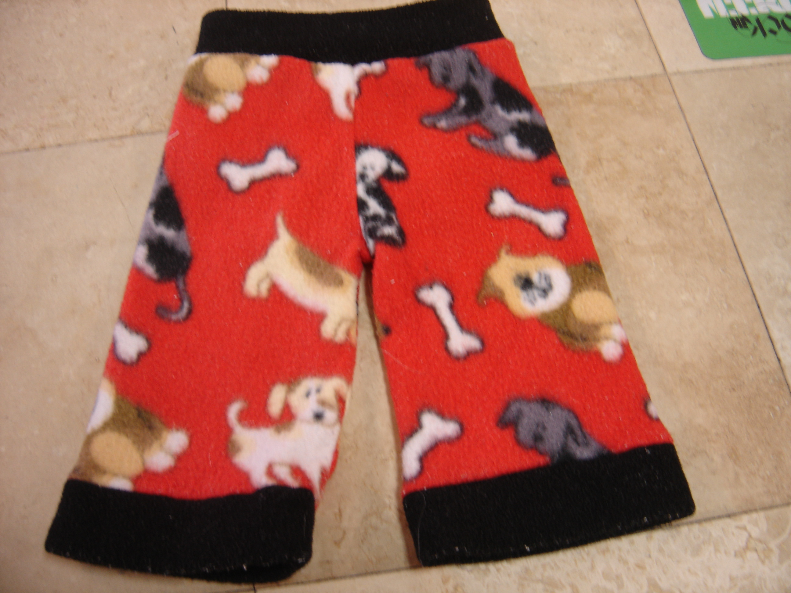 Wild Child For Babies Red Dog And Bone Fleece Cloth Diaper Cover 20