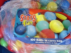 Stats Fun Ball Pit Balls - Over 100 Balls