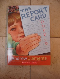 the report card book quiz