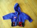Cherry Tree Size 2T Purple Fleece Jacket Girl Lightweight Outerwear