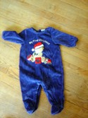 "First Impressions Size 3m-6m ""My First Christmas"" Holiday Wear"