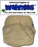 Wahmies One Size Cloth Pocket Diaper Hook Closure: Choose Color