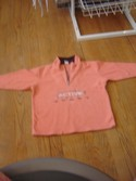 NEXT Size 5-6 Peach  Fleece Girl Lightweight Outerwear