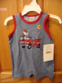 Little Me Size 3m Sleeveless Outfit Boy Spring/Summer Clothing