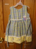 Blueberi Blvd Size 3T Dress Female Spring/Summer