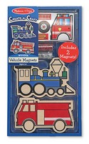4795 Create-a-Craft Wooden Vehicle Magnets by Melissa and Doug
