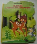 Walt Disney Book - Bambi and The Four Seasons