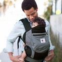 Ergo Baby Carrier Black & Charcoal BCP02500 Performance Collection
