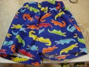 Al & Ray Size 18m Blue with Alligators Swim Trunks
