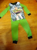 Disney Size 4T Buzz Lightyear Toy Story Long Sleeve Pajamas