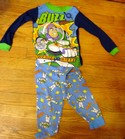 Disney Toy Story Buzz Defender of The Galaxy Size 4/5 Pajama Set