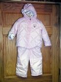 Zero Xposur Size 24m Girls Pink Snow Suit Heavyweight Outerwear
