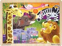 2937 African Plains 24 Pc Wooden Jigsaw by Melissa & Doug