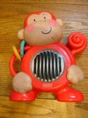 Fisher Price Discover 'n Grow Push 'n See Monkey learning baby toy 6-24 M