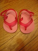 Baby Gap Infant-1 Pink Sandals with Velcro Closure