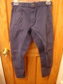 Crane Size 10-12 Blue Riding Pants