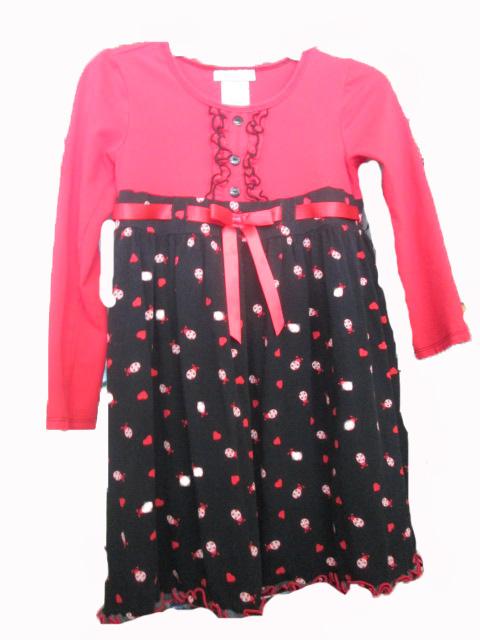 Size 6 long sleeve dress outline