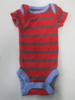 ce5a1d37b Carters Child of Mine short sleeve stripe romper SIZE PREEMIE | Finer Things