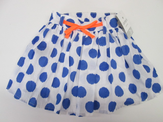 9a750100f Carters Playwear print skirt with shorts SIZE 3T BRAND NEW WITH TAGS ...