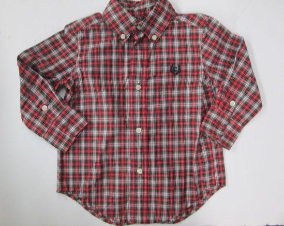 f1181cdb1 Chaps long sleeve plaid button down collar dress shirt SIZE 2/2T ...