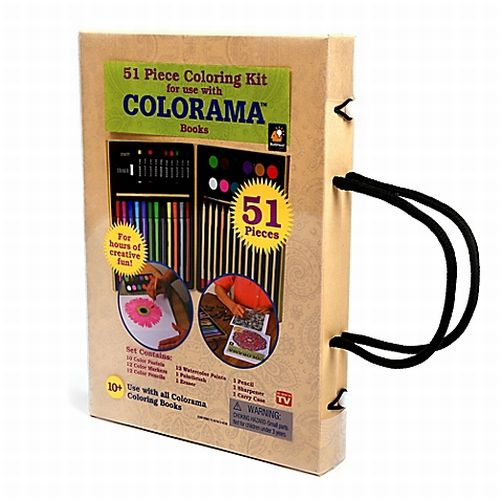 Colorama 51pc Coloring Art Kit AS SEEN ON TV BRAND NEW