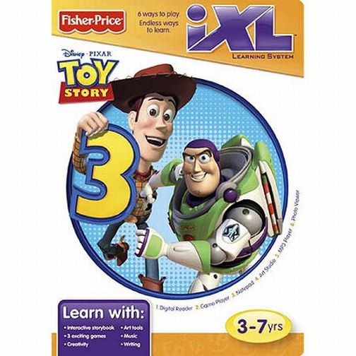 fisher price ixl learning system toy story 3 game finer things rh finerthingsresale com